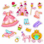 image of scepter  - big collection of items related to princesses - JPG