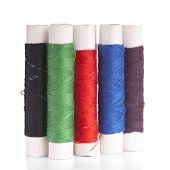 Cotton Thread Isolated