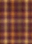 Brown And Yellow Square Fabric