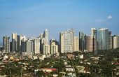 Fort Bonifacio Skyline Makati City Manila Philippinen