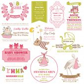 pic of stork  - Baby Arrival and Shower Collection  - JPG