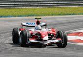 Panasonic Toyota Racing Tf107 Jarno Trulli Italian Italy Sepang F1 Malaysia 2007