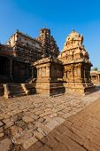 Airavatesvara Temple, Darasuram, Tamil Nadu, India. One of Great Living Chola Temples - UNESCO World