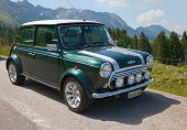 SCHWAEGALP - JUNE 27: Mini cooper on the 7th International