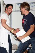 LOS ANGELES - OCT 6:  Don Diamont, Jack Wagner attend the Light The Night Walk at Sunset Gower Studi