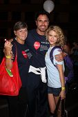 LOS ANGELES - OCT 6:  Char Griggs, Don Diamont, Linsey Godfrey attend the Light The Night Walk at Su