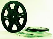 Film Reels With Films