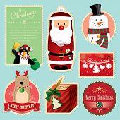 Weihnachten Dekorationen Element 1