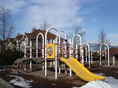 Playground Of A Townhouse Complex