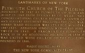 Plymouth Church of the Pilgrims in Brooklyn