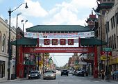 Chicago's Chinatown Gate.