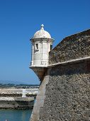Lagos - a beautiful city on the coast of the Algarve in Portuga