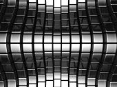 Metal silver abstract luxury background 3d illustration