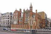 picture of carmelite  - Traditional building on Victoria Embankment and Carmelite Street London England - JPG