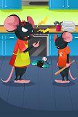 Постер, плакат: Злой мышь