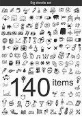 Big doodle set - 140 items