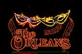 The Orleans Hotel And Casino Sign