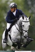 25/06/2011 HICKSTEAD ENGLAND, CENTRO ridden by Torben  K�?�?�?�¡hlbrandt (GER) competing in the