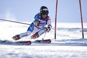 SOELDEN AUSTRIA OCT 25, Lara Gut SUI  competing in the womens giant slalom race at the Rettenbach Gl