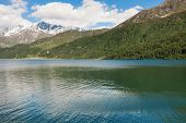 stock photo of engadine  - mountain landscape - JPG