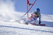 SOELDEN AUSTRIA OCT 26, Benni Raich AUT  competing in the mens giant slalom race at the Rettenbach G