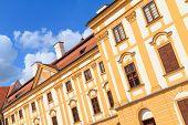 Jaromerice Palace In Southern Moravia, Czech Republic