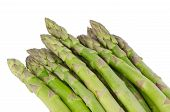 Bunch Of Green Asparagus.