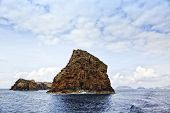 Madalena islets near Pico Island, Azores