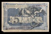 Bank Note Of Keiser Germany. 1904. Reverse.