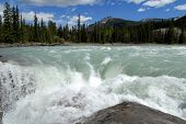 Athabasca Falls,canadian Rockies,canada