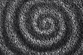Spirale Stein abstrakt Hintergrund
