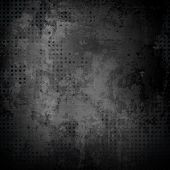 stock photo of alloy  - black metal texture - JPG