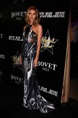Dawn Olivieri at the 6th Annual Hollywood Domino Pre-Oscar Gala & Tournament, Sunset Tower, West Hol