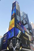 W Times Square Hotel during Super Bowl XLVIII week in Manhattan
