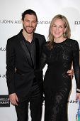 Martin Mica and Sharon Stone at the Elton John Aids Foundation 21st Academy Awards Viewing Party, We