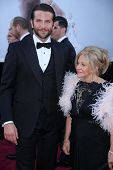 Bradley Cooper and mother at the 85th Annual Academy Awards Arrivals, Dolby Theater, Hollywood, CA 0