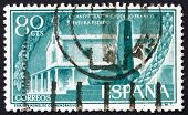 Postage Stamp Spain 1956 Hermitage And Monument