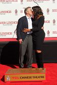 Robert De Niro, Grace Hightower at the Robert De Niro Hand and Foot Print Ceremony, Chinese Theater,