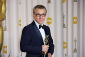 Christoph Waltz at the 85th Annual Academy Awards Press Room, Dolby Theater, Hollywood, CA 02-24-13