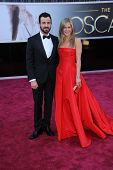 Justin Theroux, Jennifer Aniston at the 85th Annual Academy Awards Arrivals, Dolby Theater, Hollywoo