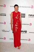 Lucy Lawless at the Elton John Aids Foundation 21st Academy Awards Viewing Party, West Hollywood Par