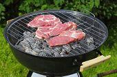 Steak Grilling.