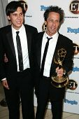 WEST HOLLYWOOD - AUGUST 27: Brian Grazer and Riley Grazer at the 10th Annual Entertainment Tonight E