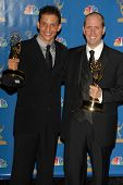 LOS ANGELES - AUGUST 27: Marc Buckland and Gregory Thomas Garcia in the Press Room at the 58th Annual Primetime Emmy Awards in The Shrine Auditorium August 27, 2006 in Los Angeles, CA.