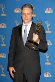 LOS ANGELES - AUGUST 27: Jon Stewart in the Press Room at the 58th Annual Primetime Emmy Awards in The Shrine Auditorium August 27, 2006 in Los Angeles, CA.