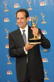 LOS ANGELES - AUGUST 27: Tony Shalhoub in the Press Room at the 58th Annual Primetime Emmy Awards in The Shrine Auditorium August 27, 2006 in Los Angeles, CA.