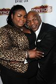 Mikey Lorna Tyson, Mike Tyson at the Opening of