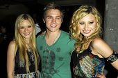 ANAHEIM, CA - JULY 22: Aly Michalka Jesse McCartney and AJ Michalka at the Radio Disney Totally 10 Birthday Concert on July 22, 2006 at Anaheim Pond in Anaheim, CA.