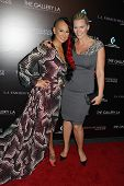 Natasha Henstridge and Urbana Chappa at the LA Fashion Weekend Fall/Winter 2013 Ermelinda Designs 'M