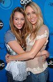 PASADENA, CA - JULY 19: Miley Cyrus and her mom at the Disney ABC Television Group All Star Party on July 19, 2006 at Kidspace Children's Museum in Pasadena, CA.